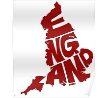 England Red Poster