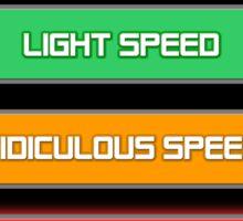 Ludicrous Speed Sticker