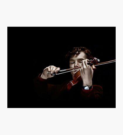 The Violinist Photographic Print
