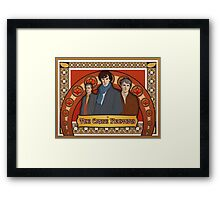 The Crime Fighters Framed Print