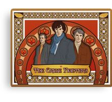 The Crime Fighters Canvas Print