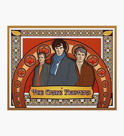The Crime Fighters Photographic Print