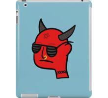 Devil dude iPad Case/Skin