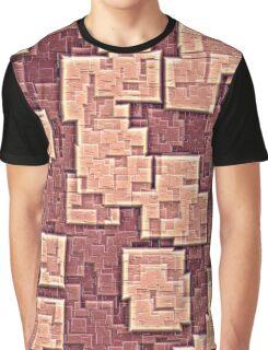 pink blocks Graphic T-Shirt