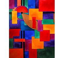 Colours, abstract Photographic Print