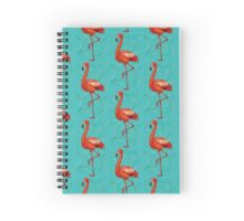 The flamingo blue dream Spiral Notebook