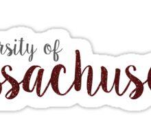 University of Massachusetts Sticker