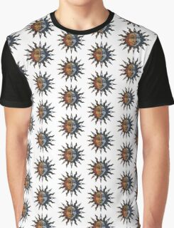 Sun and Moon. Graphic T-Shirt