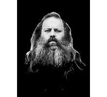 Rick Rubin - DEF JAM shirt Photographic Print