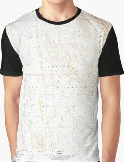 USGS TOPO Map Arizona AZ Willow Springs 314133 1981 24000 Graphic T-Shirt