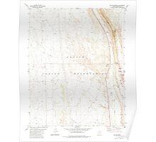 USGS TOPO Map Arizona AZ Willow Springs 314133 1981 24000 Poster