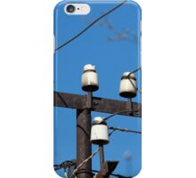 electric wires iPhone Case/Skin
