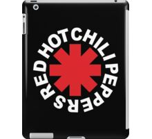 red chili hot paper rock band iPad Case/Skin
