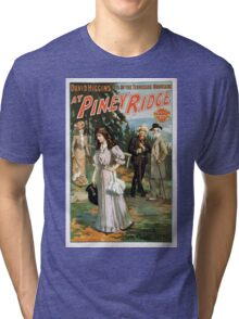 Performing Arts Posters David Higgins idyl of the Tennessee mountains At Piney Ridge 1234 Tri-blend T-Shirt