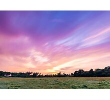Sunrise Over Mortimer Photographic Print