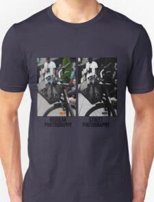 Regular Photography Vs Street Photography Unisex T-Shirt