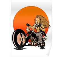 Lion, Cat, Biker - Motorcycles, Motorcycle Gear, Bikes Poster
