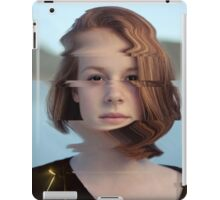 Red Glitch - Dani iPad Case/Skin