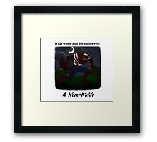 Were Waldo Framed Print