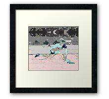 Tennis male Framed Print