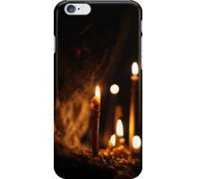 Candle in the dark iPhone Case/Skin