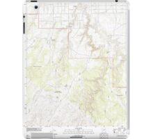 USGS TOPO Map Arizona AZ Red Knoll 20111118 TM iPad Case/Skin