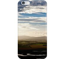 Kinross-Shire From Benarty Hill iPhone Case/Skin
