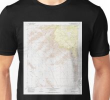 USGS TOPO Map Arizona AZ Music Mountains SE 312568 1968 24000 Unisex T-Shirt