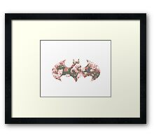 You Can Like Flowers and Fight Crime Too Framed Print