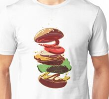 Burger Stack  Unisex T-Shirt