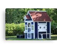 playhouse for kids Canvas Print