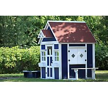 playhouse for kids Photographic Print