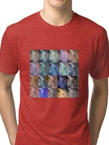 Red Rock Mixed Colors by LadyT Designs Tri-blend T-Shirt