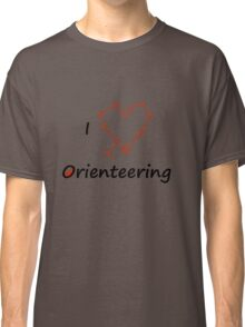 I Heart/Love Orienteering Classic T-Shirt
