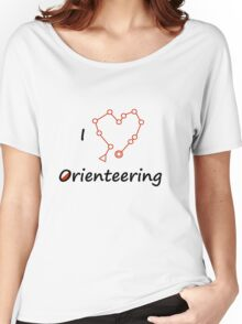 I Heart/Love Orienteering Women's Relaxed Fit T-Shirt