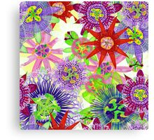 Mix Brazil Passiflora Canvas Print