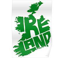 Ireland Green Poster