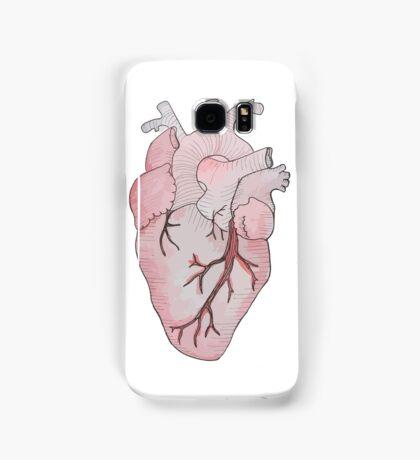anatomical heart Samsung Galaxy Case/Skin