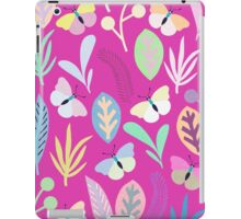 Flower and Butterfly iPad Case/Skin
