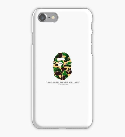 BAPE IPhone Case  iPhone Case/Skin