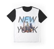 New York Stark Tower Skyline Graphic T-Shirt