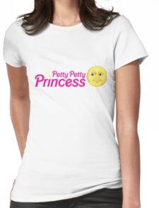 Petty Petty Princess Womens Fitted T-Shirt