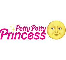 Petty Petty Princess Photographic Print