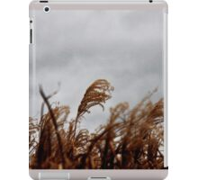 Wildgrass before the rain iPad Case/Skin