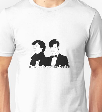 The Sleuth and the Doctor Unisex T-Shirt