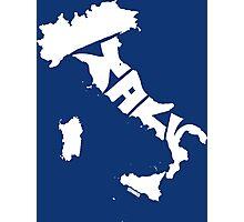 Italy White Photographic Print