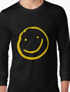 Smile if You're Bored Long Sleeve T-Shirt
