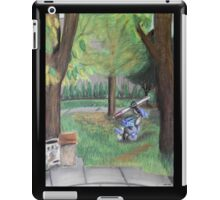 Landscape with Robot iPad Case/Skin