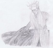 The Elven King Thranduil - The Hobbit by Victoria  McMillan