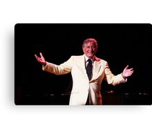 An Evening with Tony Bennett Canvas Print